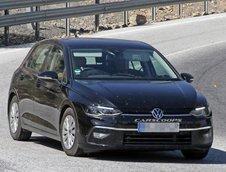 VW Golf 8 - Ultimele poze spion