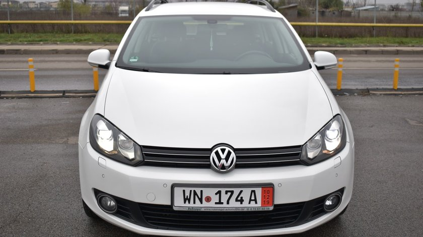 VW Golf Golf 6 Euro 5/1.6D 105 Cp/NAVI Mare/Bi-Xenox/START-STOP/Senzori parcare fata+spate+cameera/Bluetooth/Pilot…RECENT ADUSA DIN GERMANIA!!! 2010