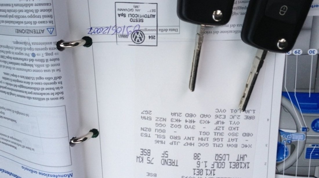 VW Golf GPL / BRC Omologat 2007
