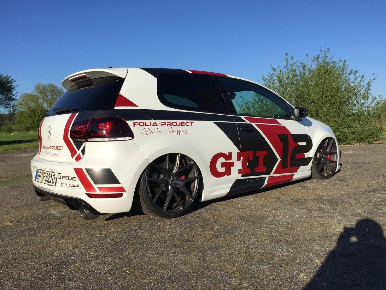 VW Golf GTI cu perne de aer - VW Golf GTI cu perne de aer