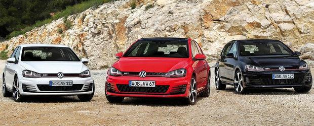 VW Golf GTI vs VW Golf GTI Performance: Care-i mai rapid pe circuit?