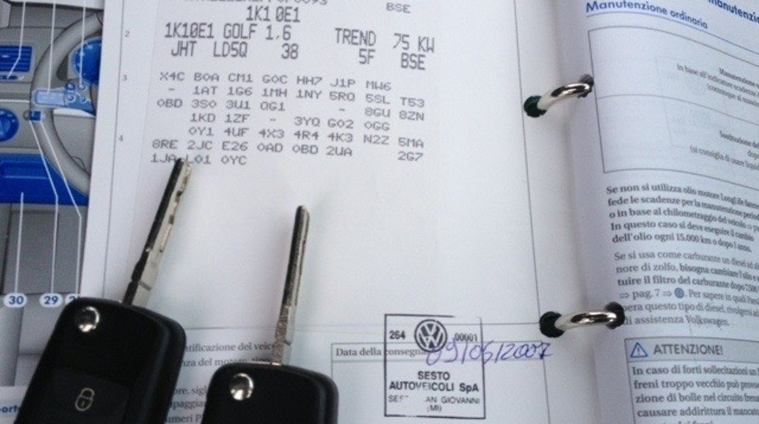 VW Golf Instalatie GPL  / BRC Omologata in carte 2007