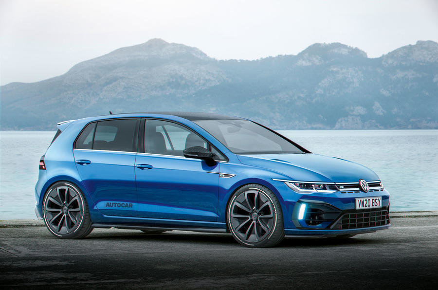 VW Golf R Plus - Interpretare artistica