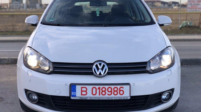VW Golf VW GOLF 6 Euro 5/1.6Diesel 105Cp/Bi-Xenon/START-STOP/Pilot/Bluetooth.Senzori parcare fata-spate.Pilot automat.Scaune incalzite. 2011