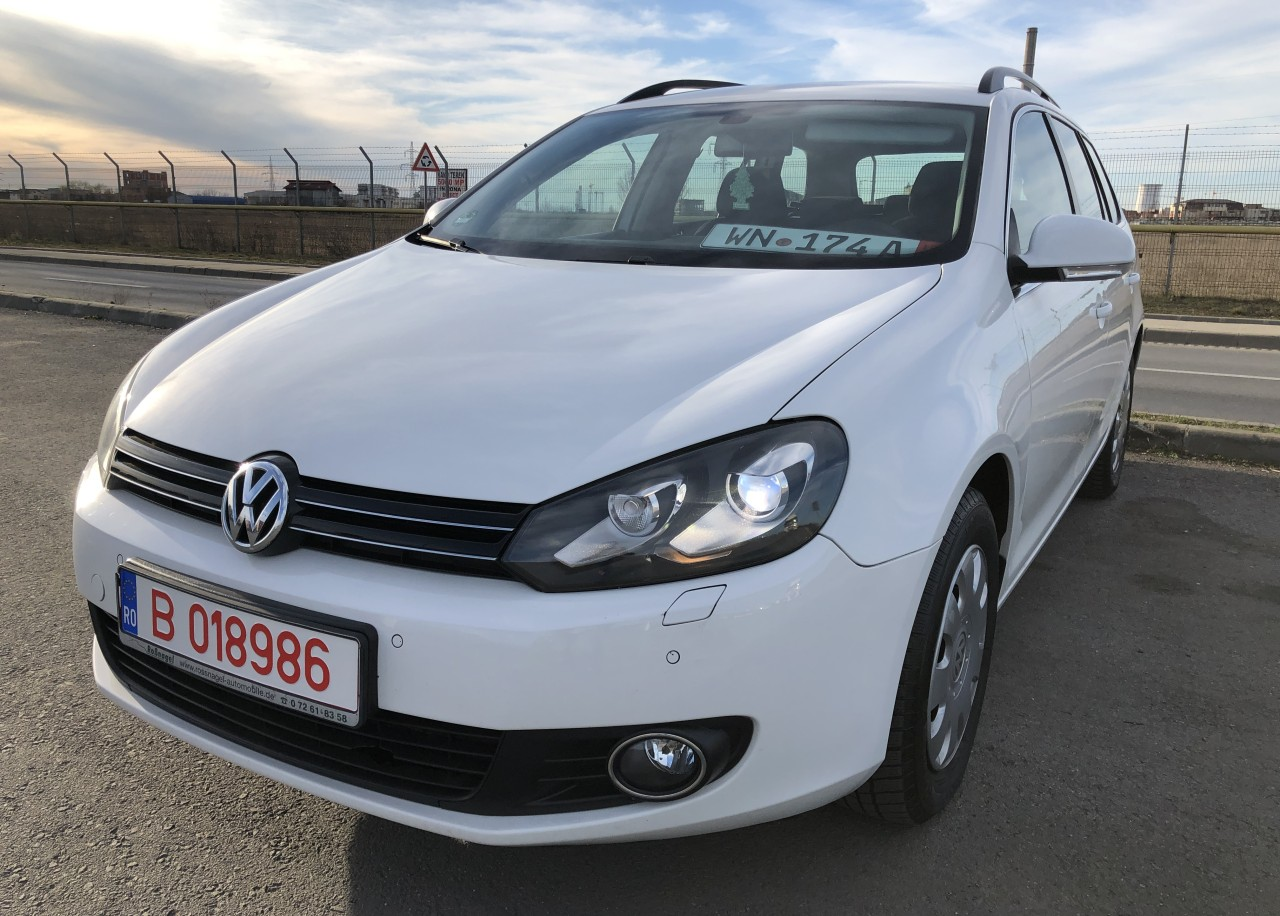 VW Golf VW GOLF 6 Euro 5/1.6Diesel 105Cp/Bi-Xenon/START-STOP/Pilot/Bluetooth 2011
