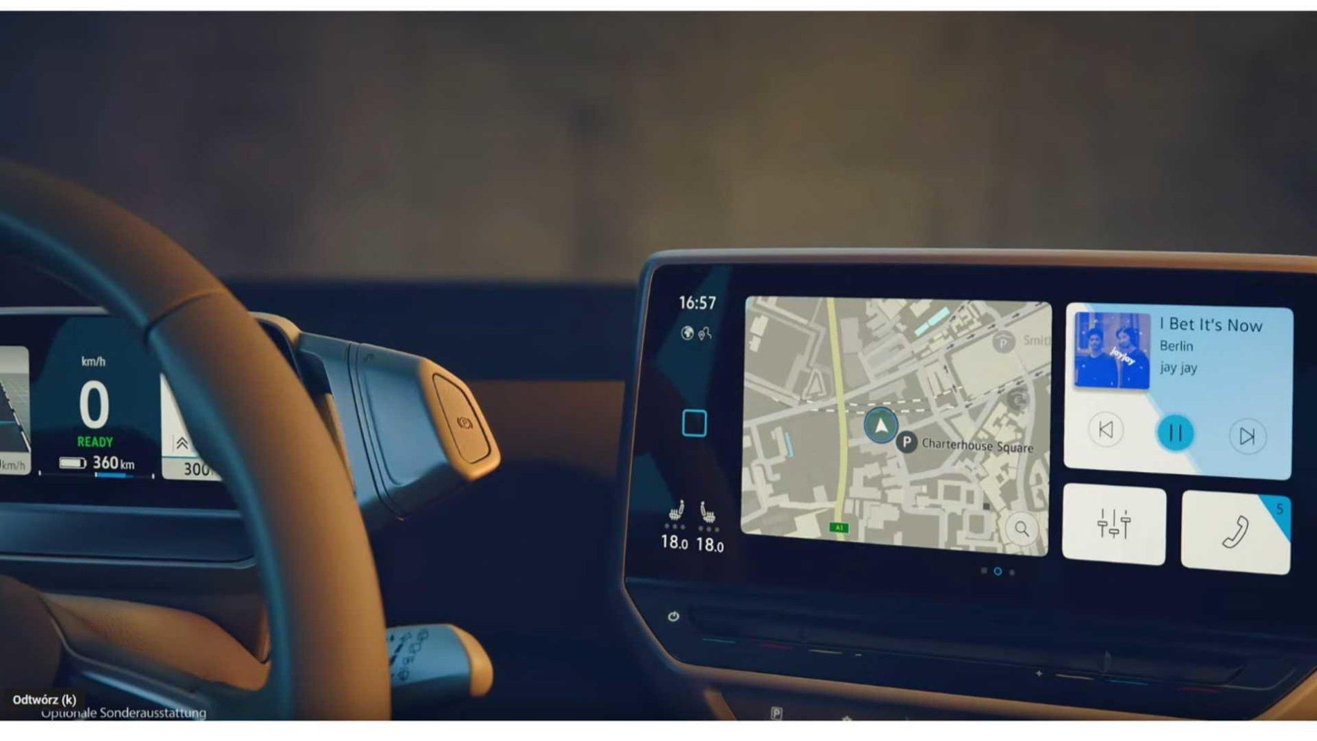 VW ID.3 - Poze interior - VW ID.3 - Poze interior