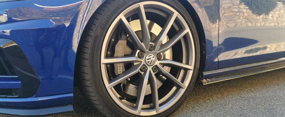 VW n-a putut sa-i vanda unul, asa ca si l-a construit singur. Acum conduce un hot-hatch cu motor I5 turbo