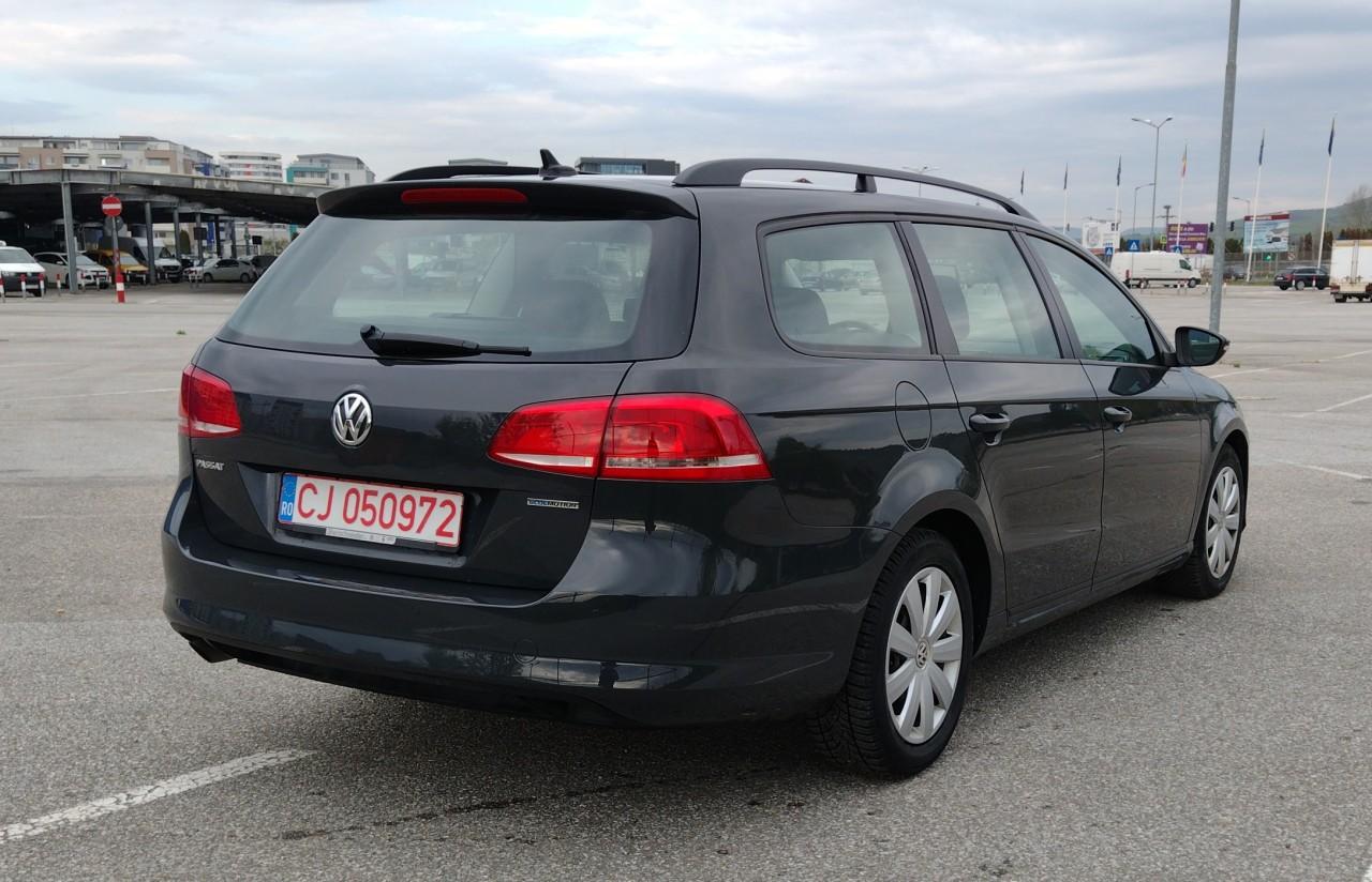 VW Passat 2014 Diesel RAR efectuat consum 4,3% 2014