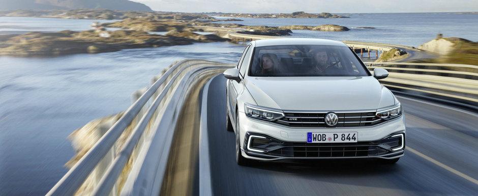 VW PASSAT facelift este aici! Regele sedanurilor de clasa medie se poate conduce singur pana la 210 km/h