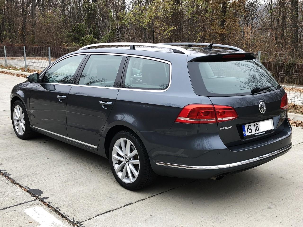 VW Passat km reali carte service an fab. 2011