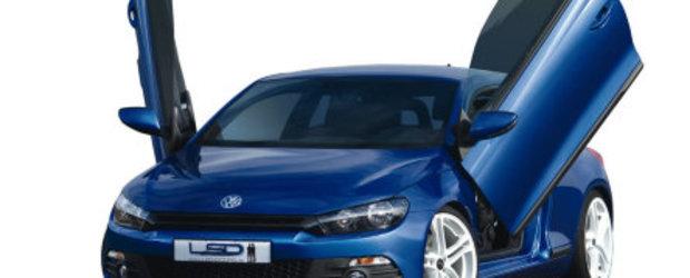 VW Scirocco cu Lambo Doors