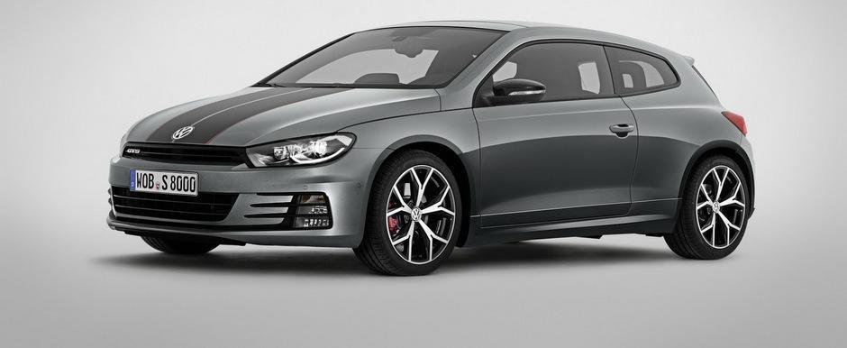 VW Scirocco GTS intra in scena cu o pereche de dungi si un total de 220 CP