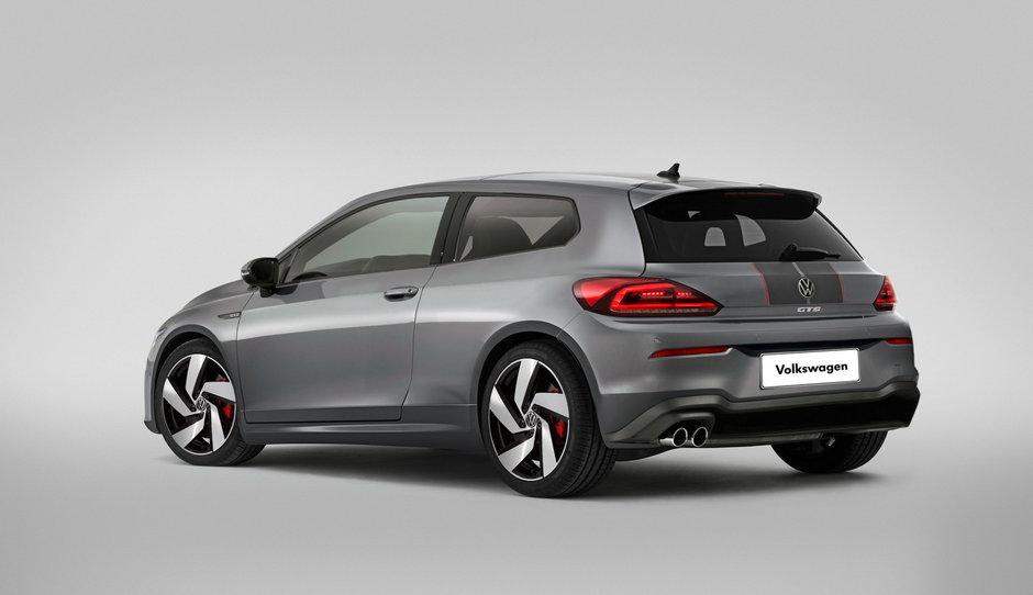 VW Scirocco - Ipoteza de design