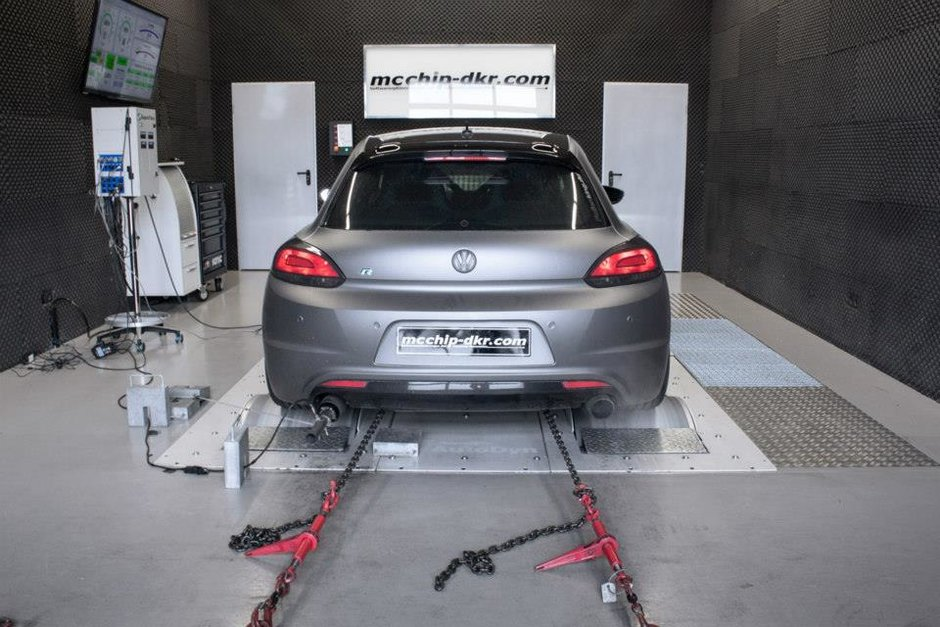 VW Scirocco R by mcchip-dkr
