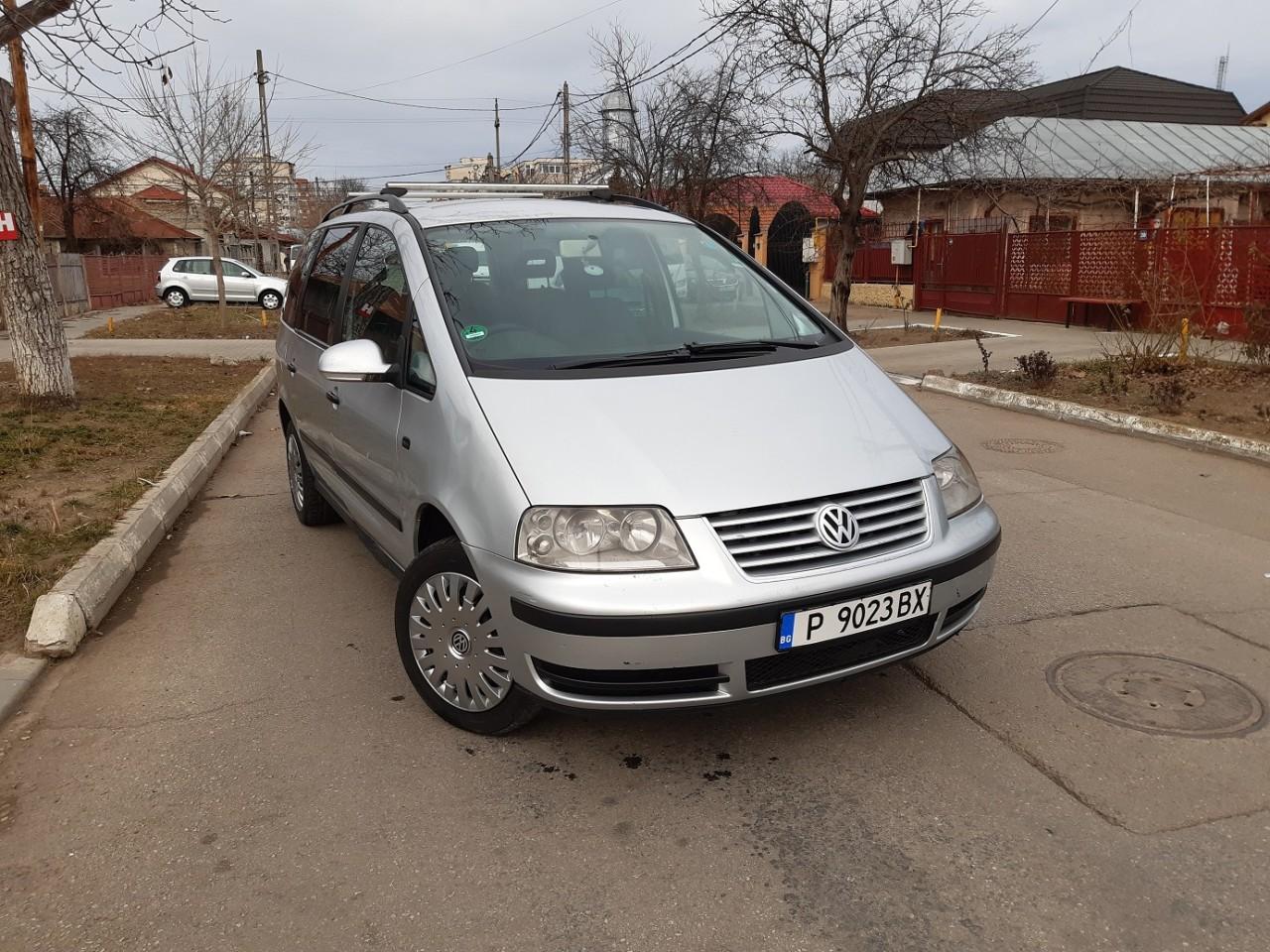 VW Sharan 1,9 diesel 2007