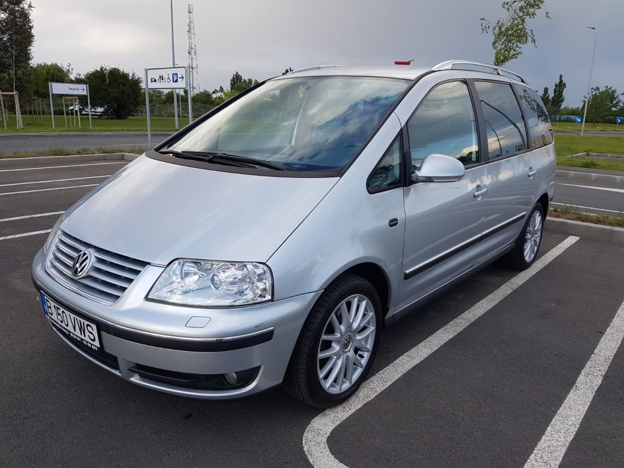 VW Sharan 2.0 TDI Euro 4 an 2008