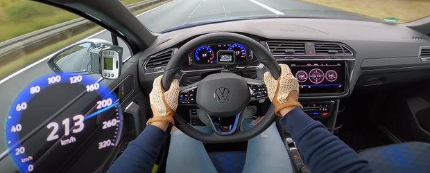 VW spune ca noul Tiguan R face suta in 4.9 secunde dar acest VIDEO demonstreaza ca este mai rapid