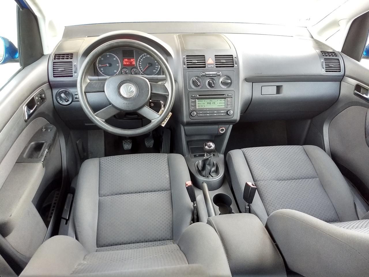 VW Touran 1.9 TDI 6+1 viteze 7 Locuri 2005