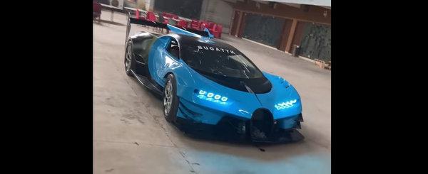 VW trebuie sa-l angajazeze in clipa urmatoare. Tipul asta si-a construit propriul Bugatti Vision GT