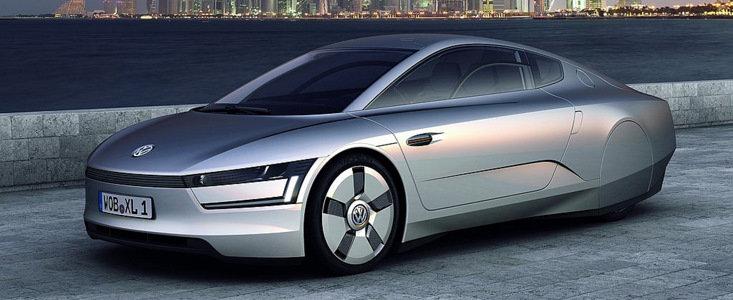 VW va produce in serie conceptul XL1, masina care consuma 0,9 litri/100 km