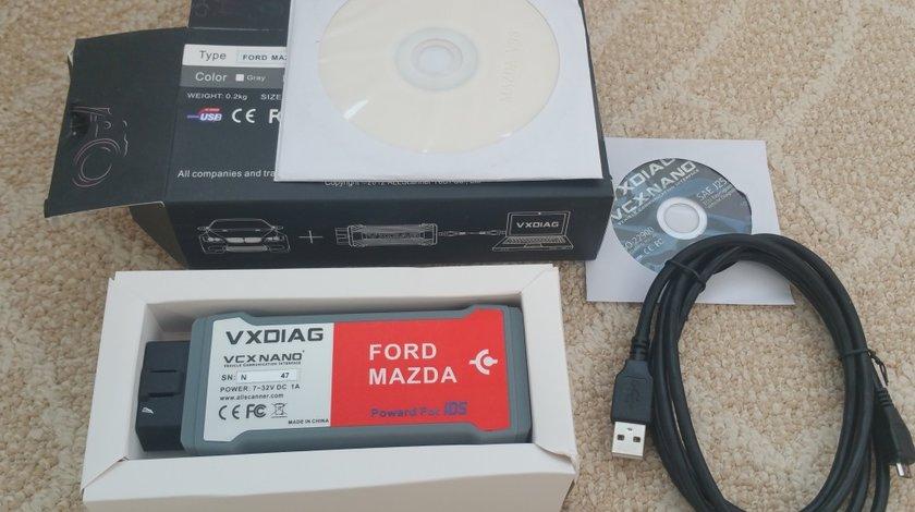 VXDIAG VCX NANO pentru Ford VCM IDS, Mazda 2in1 cu Software v114