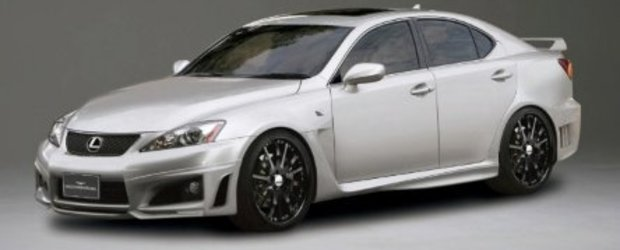Wald International revine cu Lexus IS-F