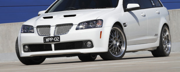 Walkinshaw Holden SS-V Superwagon - Tot ce vrei de la australieni