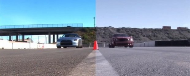 War of the Worlds: Bentley Continental Supersports vs. Nissan GT-R