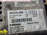 Webasto AUDI A8 4E 3.0 tdi 2003 2004 2005 2006 2007 2008