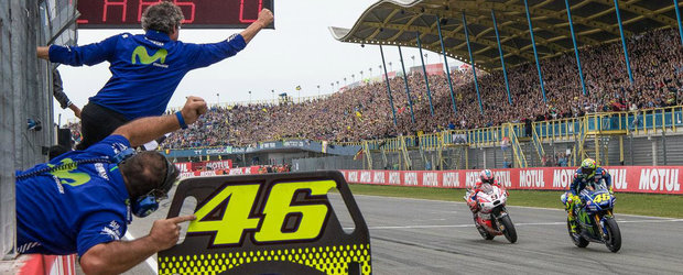 Weekend de vis pentru Rossi in Olanda. Doctorul a castigat prima cursa din 2017