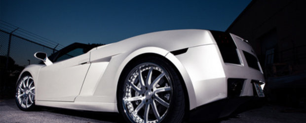 White Desire: Lambo Gallardo Spyder & Vossen VF051