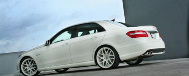 White Star: Mercedes E63 AMG & HRE P40