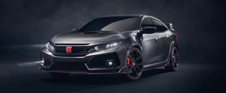 Whoa! Noua Honda Civic Type R apare de nicaieri si ne da pe spate cu formele ei
