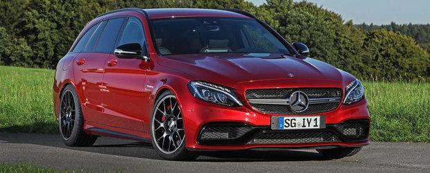 Wimmer RS intra in joc si ne-aduce Mercedes-ul C63 AMG S de 640 CP