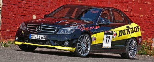 Wimmer RS transforma noul Mercedes C63 AMG intr-un adevarat racer!