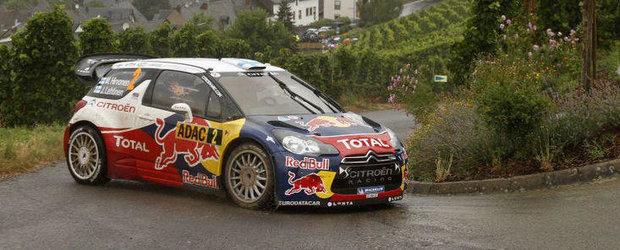 WRC Germania - Loeb si Elena sunt in al noualea cer
