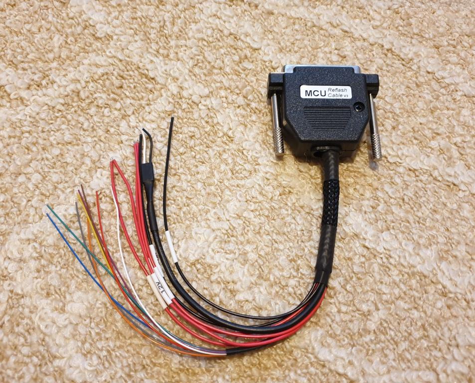 XHORSE VVDI PROG Programmer MCU Reflash Cable v3