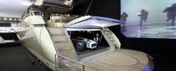 Yacht + Caterham? De ce nu?