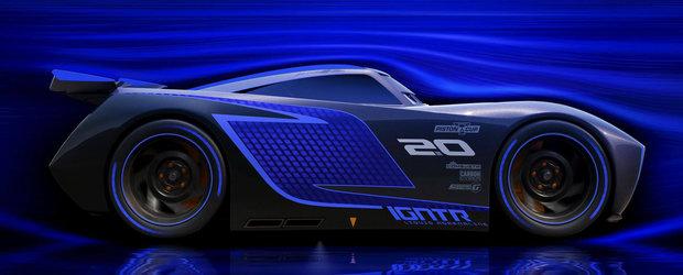 Zici ca-i un Nissan GT-R. Uite cum arata personajul negativ din Cars 3