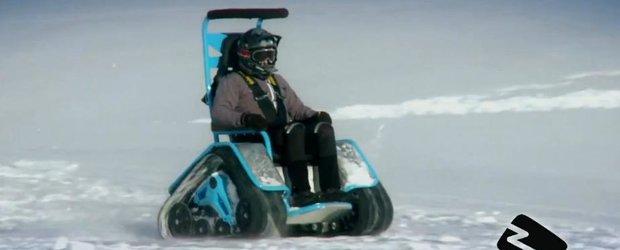 Ziesel: cel mai amuzant snowmobil electric din lume