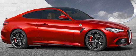 Zilele BMW-ului Seria 4 sunt numarate. Noua Giulia Coupe ar putea debuta inainte de finalul lui 2018