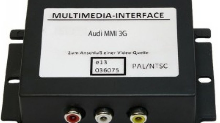 ZL MMI3G Interfata Audio Video MMI3G Audi VW TOUAREG 7P5