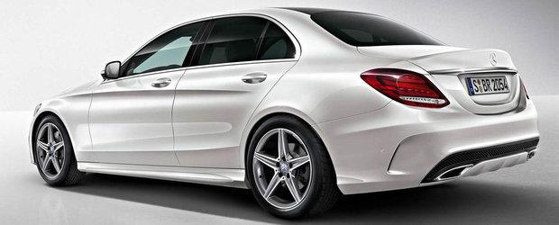 Zvon: Mercedes vrea sa umple golul dintre Clasa C standard si AMG cu linia Sport